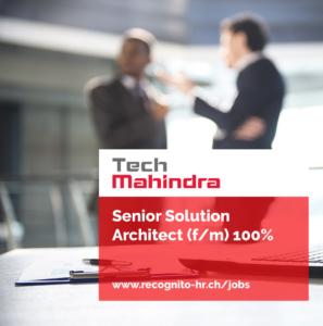 Senior Solution Architect (f/m) 100%